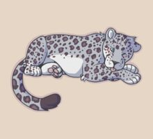 cutesy snow leopard by Guggles