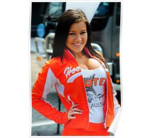 Hooters | V8 Supercars 2011 | Sydney 500 Poster