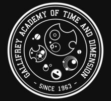 Gallifrey Academy of Time and Dimension One Piece - Short Sleeve