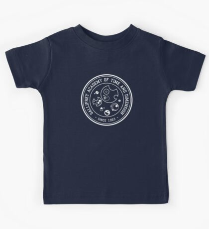 Gallifrey Academy of Time and Dimension Kids Tee