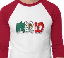 mexico Men's Baseball ¾ T-Shirt
