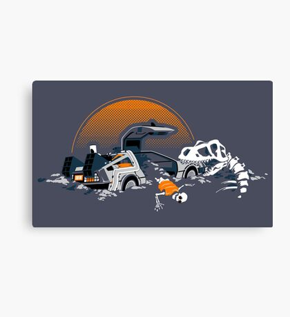88 Million Years Ago... Canvas Print