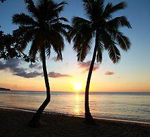 East Winds Sunset by John Dalkin