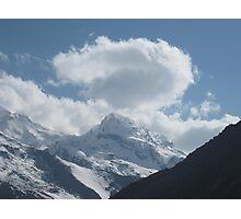 Cloud mountain Photographic Print