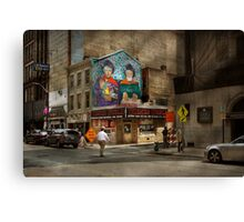 City - Pittsburg, PA - Wiener World Canvas Print