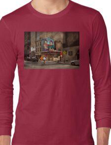City - Pittsburg, PA - Wiener World Long Sleeve T-Shirt