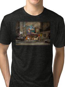 City - Pittsburg, PA - Wiener World Tri-blend T-Shirt