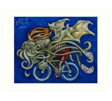 Cthulhu Roadie Art Print
