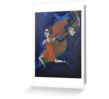 Artnap V: Noir Greeting Card