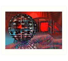 Geometrical Philosophy Art Print