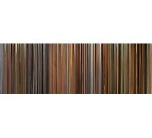Moviebarcode: The Complete Wes Anderson (1994-2009) Photographic Print