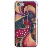 """Night in the City of Gods"" from the series ""Tales from the Unknown Book"" iPhone Case/Skin"