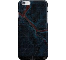 USGS Topo Map Washington State WA Starbuck West 244003 1981 24000 Inverted iPhone Case/Skin