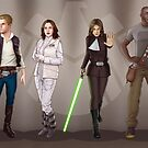 A Galaxy Far Away - Agents Combined by eclecticmuse