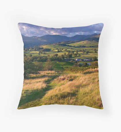 The View from Orrest Head - The Lake District Throw Pillow