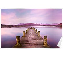 Winter at Windermere. Poster