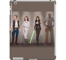 A Galaxy Far Away - Agents Combined iPad Case/Skin