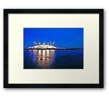 London Millennium Dome Framed Print