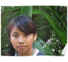 Young Mexican girl - Jovencita Mexicana Poster