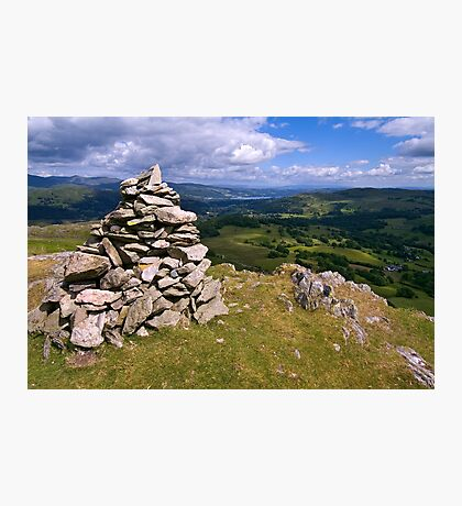 View from Lingmoor Fell - The Lake District Photographic Print