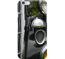Black & Chrome iPhone Case/Skin
