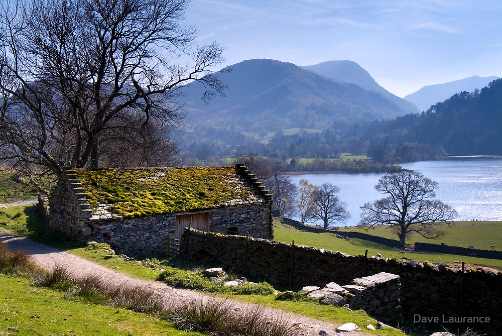 Traditional Barn - Ullswater - The Lake District by Dave Lawrance
