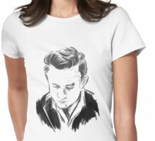 Johnny Cash Womens Fitted T-Shirt