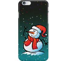 Snowman Waving iPhone Case/Skin