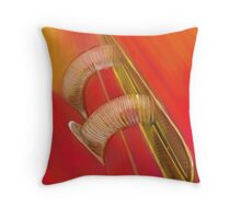 Cord Pipes Throw Pillow