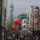 BT Tower From China Town, London by MagsWilliamson