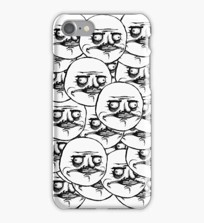 Me Gusta Troll Face MEME iPhone Case/Skin