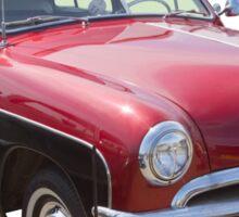 1950 Ford Custom Deluxe Classsic Car Sticker