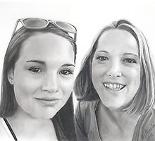 Jade and Missy by Marlene Piccolin
