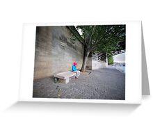 l'attendue sur la Seine Greeting Card