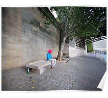 l'attendue sur la Seine Poster