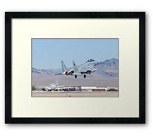 #9212 F-15S Eagle Taking Off Framed Print