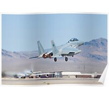 #9212 F-15S Eagle Taking Off Poster
