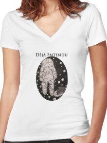 Brand New Band Déjà Entendu Spaceman  Women's Fitted V-Neck T-Shirt