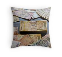 The new India Throw Pillow