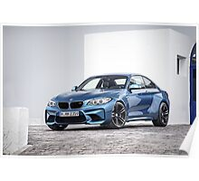 BMW M2 Poster