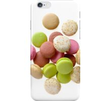 Heap of multicolored macarons iPhone Case/Skin