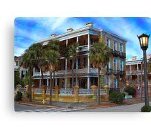 Charleston Mansion Canvas Print