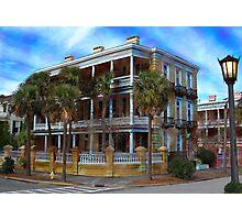 Charleston Mansion Photographic Print