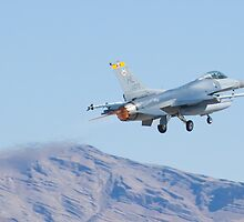 F-16C Fighting Falcon HL AF 89 075 Taking Off by Henry Plumley