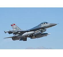 #HL AF 89 0149 F-16C Fighting Falcon Photographic Print