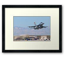 #HL AF 89 0149 F-16C Fighting Falcon Taking Off Framed Print