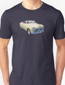1949 Ford Custom Deluxe Convertible Antique Car T-Shirt