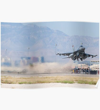 #HL AF 89 149 F-16C Fighting Falcon Wheels Up Poster