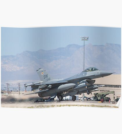 #SW AF 93 0546 F-16C Fighting Falcon Poster
