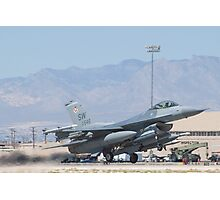#SW AF 93 0546 F-16C Fighting Falcon Photographic Print